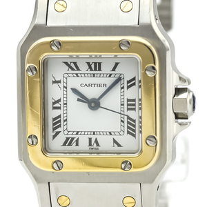 Cartier Santos Galbee Automatic Stainless Steel,Yellow Gold (18K) Women's Dress Watch
