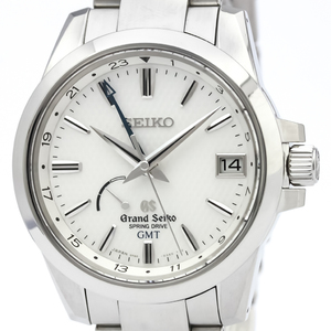 GRAND SEIKO Spring Drive GMT Steel Watch SBGE009(9R66-0AE0)
