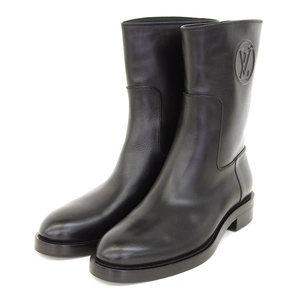Louis Vuitton Real Louis Vitton Vuitton 16 Years Women's Boot Black