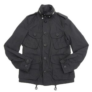 Authentic Burberry Mens Mountain Parka Outer Black Xs