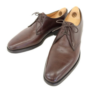 Real John Lobb Love Perrier Business Shoes Leather Tea Men 9 1/2 E
