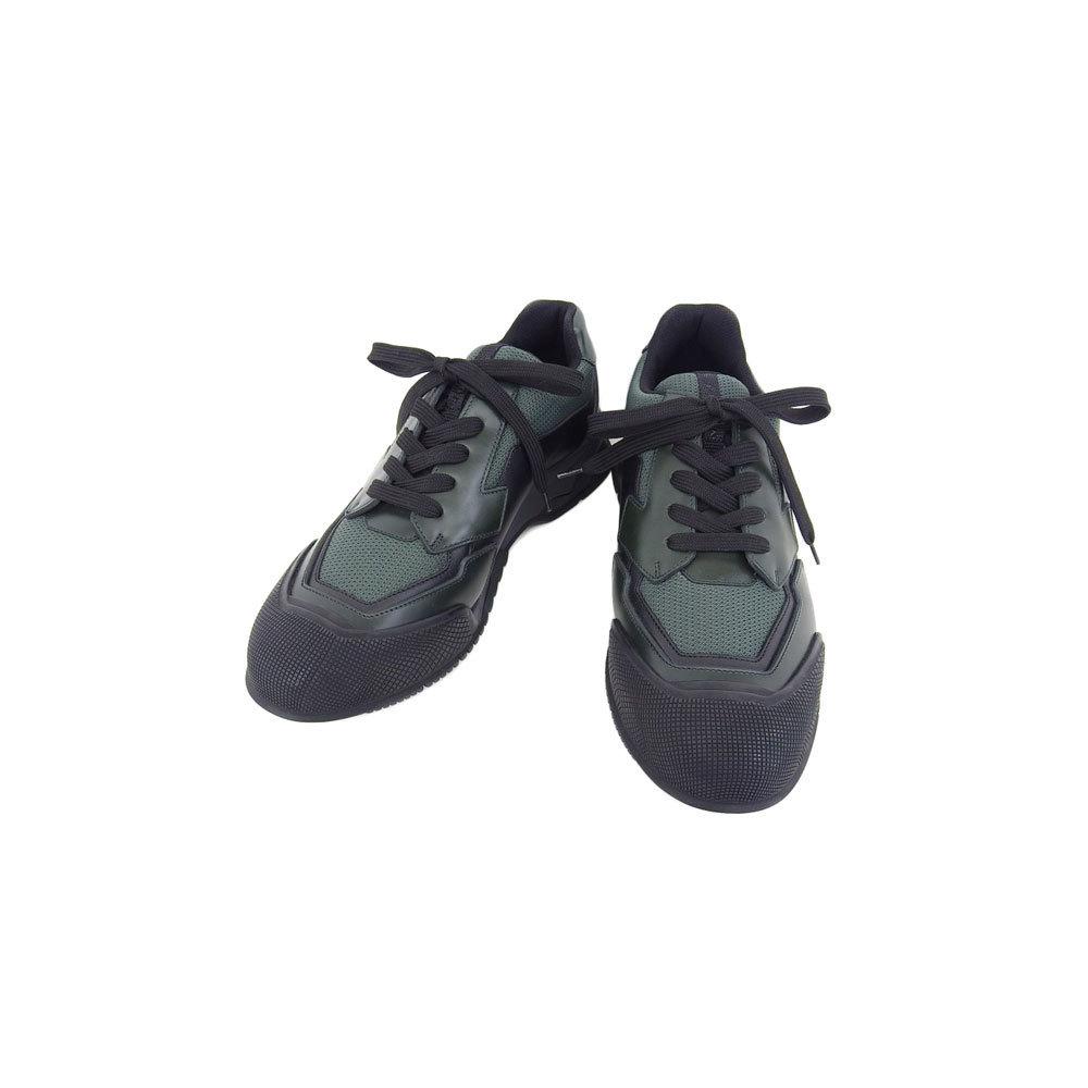 Genuine Prada Men's Sneakers Green 7
