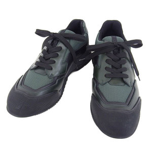 Genuine Prada Men's Sneakers Green 7