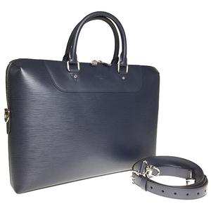 ルイ・ヴィトン(Louis Vuitton) エピ M51177 ポルトドキュマン ジュール メンズ ブリーフケース ブルーマリーヌ