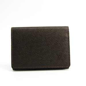 ルイ・ヴィトン(Louis Vuitton) タイガ タイガ 名刺入れ グリズリ アンヴェロップ・カルト ドゥ ヴィジット M30928