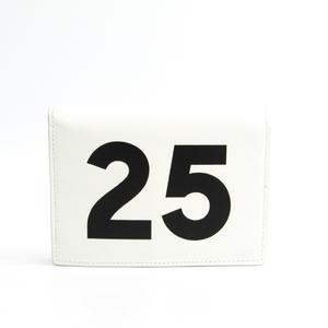 バレンシアガ(Balenciaga) 493995 ユニセックス レザー 財布(二つ折り) ホワイト,ブラック
