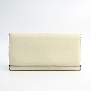 Valextra Removable 12 Card Holder V9L15 Unisex Leather Long Wallet (bi-fold) White