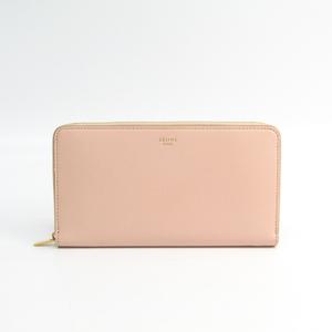 セリーヌ(Celine) ラージ ジップドマルチファンクション 105003 レディース  カーフスキン 長財布(二つ折り) ペールピンク