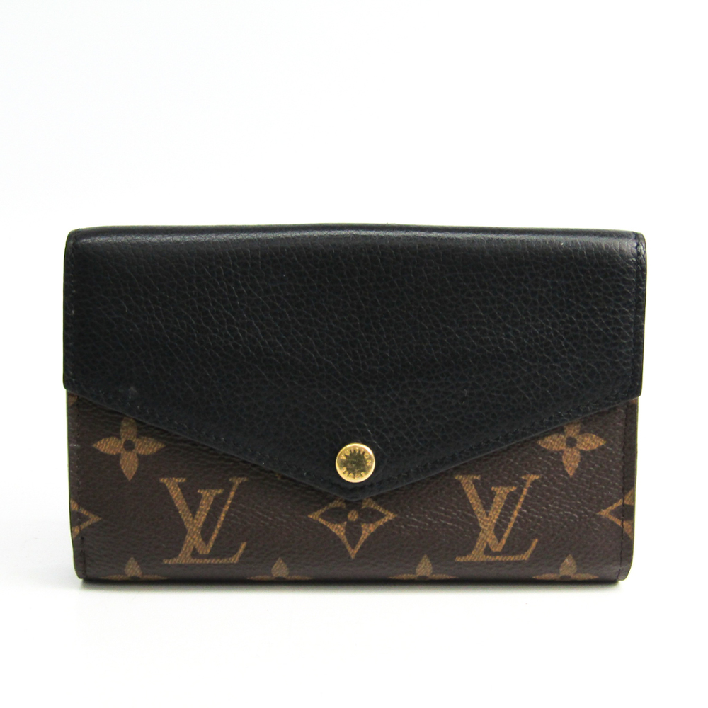 official photos f2725 9b757 Louis Vuitton Monogram Pallas Compact Wallet M60990 Women's  Monogram,Leather Middle Wallet (bi-fold) Noir | eLady.com