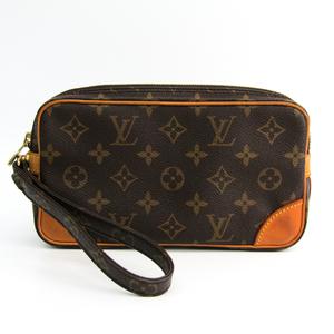fca277fd17bf Louis Vuitton Monogram Marly Dragonne PM M51827 Clutch Bag Monogram