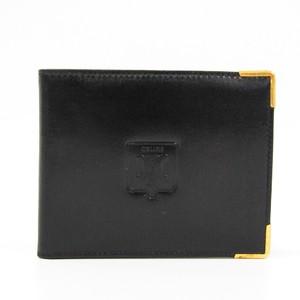 セリーヌ(Celine) レディース レザー 財布(二つ折り) ブラック