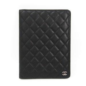Chanel Matelasse Planner Cover Black