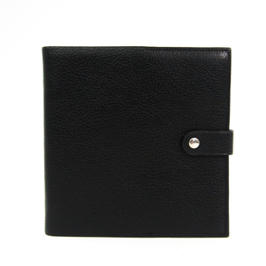 Hermes Leather Accessory Black CD Case