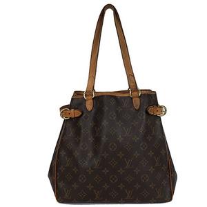 Auth Louis Vuitton Shoulder Bag Monogram Batignolles Vertical M51153