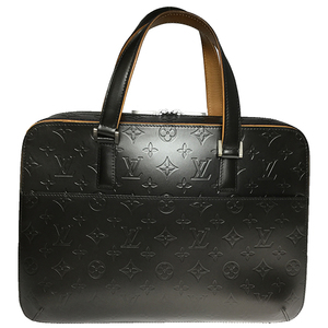 Louis Vuitton Monogram Mat Malden M55135 Women's Handbag Gray