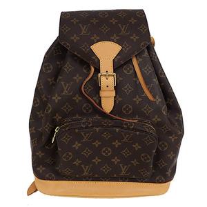Auth Louis Vuitton Back Pack Monogram MontsourisGM M51135