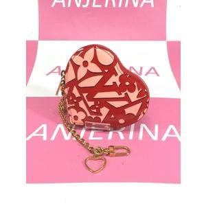 Louis Vuitton Portamento · Cool M90133 Women,Girls  Coin Purse/coin Case Pink,Red