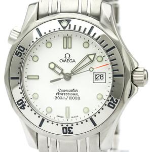 【OMEGA】オメガ シーマスター プロフェッショナル 300M ステンレススチール クォーツ ボーイズ 時計 2562.20