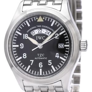 IWC Flieger UTC Steel Automatic Mens Watch 3251 IW325102