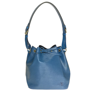 Louis Vuitton Epi M44105 Petit Noe Women's Shoulder Bag Toledo Blue
