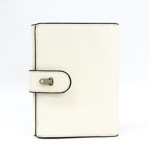 ヴァレクストラ(Valextra) ユニセックス レザー 財布(三つ折り) ホワイト