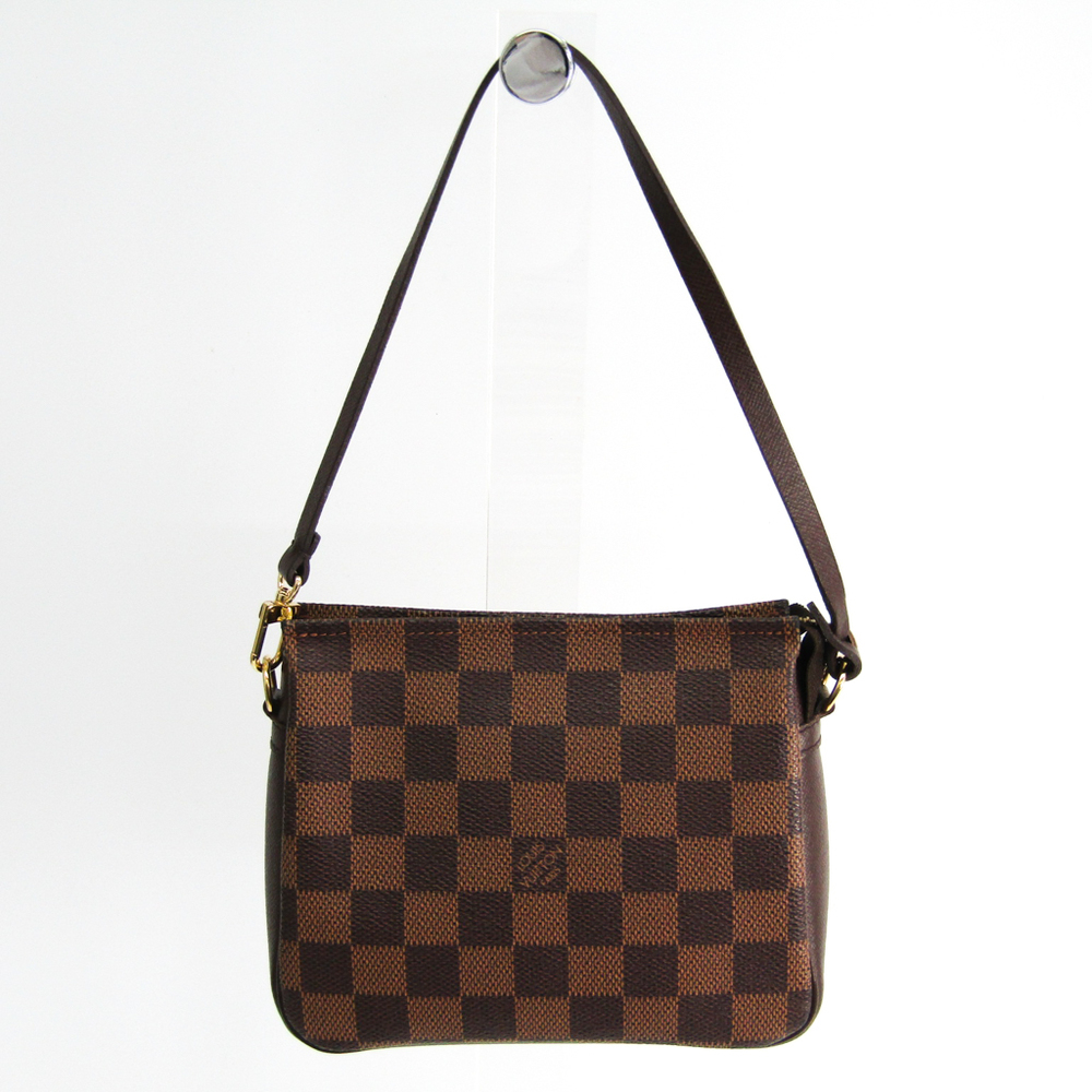 0b404aea195 Louis Vuitton Damier Trousse Makeup N51982 Handbag Ebene