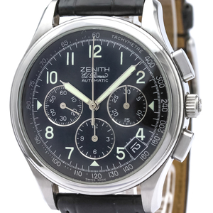 Zenith Class Automatic Stainless Steel Sports Watch 01.0500.400