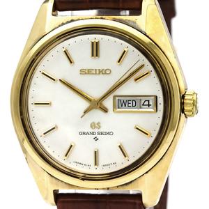 Seiko Grand Seiko Automatic Gold Plated Men's Dress Watch 6146-8000
