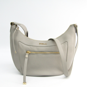Furla Women's Leather Shoulder Bag Grayish