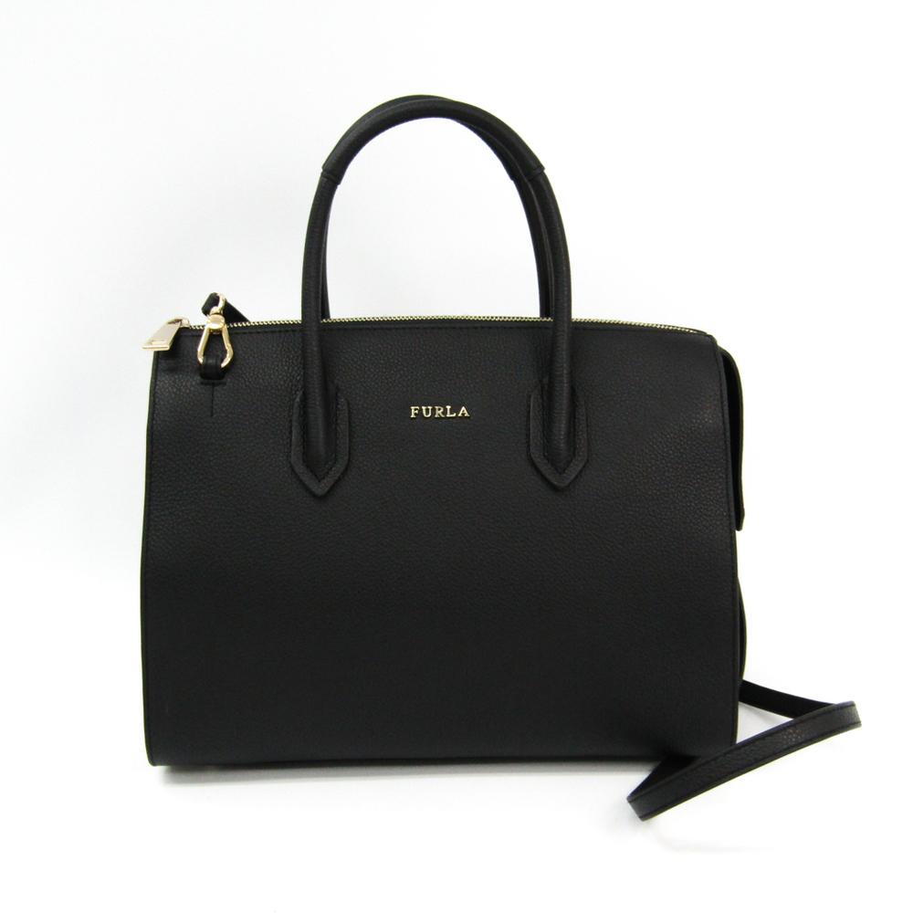 Furla Pin Tote M 948712 Women's Leather Tote Bag Pink