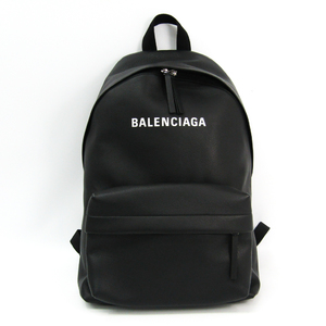 Balenciaga Everyday Backpack 509512 Women's Leather Backpack Black