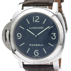 Officine Panerai Luminor Mechanical Stainless Steel Men's Sports Watch PAM00219