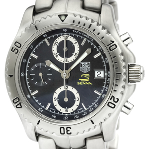 TAG HEUER LINK Chronograph Ayrton Senna Limited Watch CT5114