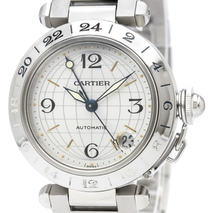 CARTIER Pasha C Meridian Steel Automatic Unisex Watch W31029M7