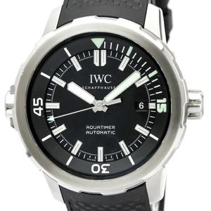 IWC アクアタイマー 自動巻き ステンレススチール(SS) メンズ スポーツウォッチ IW329001