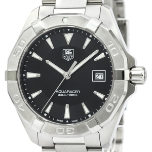 Tag Heuer Aquaracer Quartz Stainless Steel Men's Sports Watch WAY1110