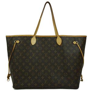 55e32f9a7c4a Auth Louis Vuitton Tote Bag Monogram Neverfull GM M40990