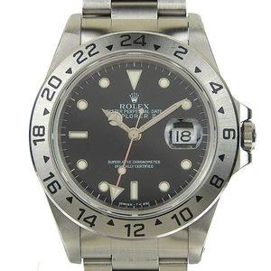 Authentic ROLEX Explorer 2 Men's Automatic Wrist Watch 16570 W Series