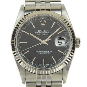 Real ROLEX Rolex Datejust Men's Automatic Watch 16234 X Series