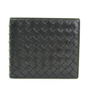 ボッテガ・ヴェネタ(Bottega Veneta) イントレチャート 113993 イントレチャート 財布(二つ折り) ブラック