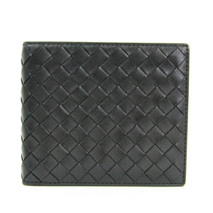 Bottega Veneta Intrecciato 113993 Intrecciato Wallet (bi-fold) Black