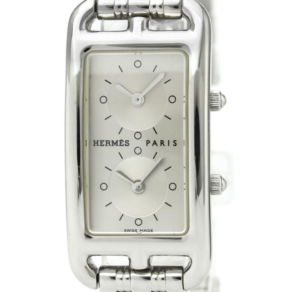 エルメス(Hermes) ケープコッド クォーツ ステンレススチール(SS) レディース ドレスウォッチ CC3.210