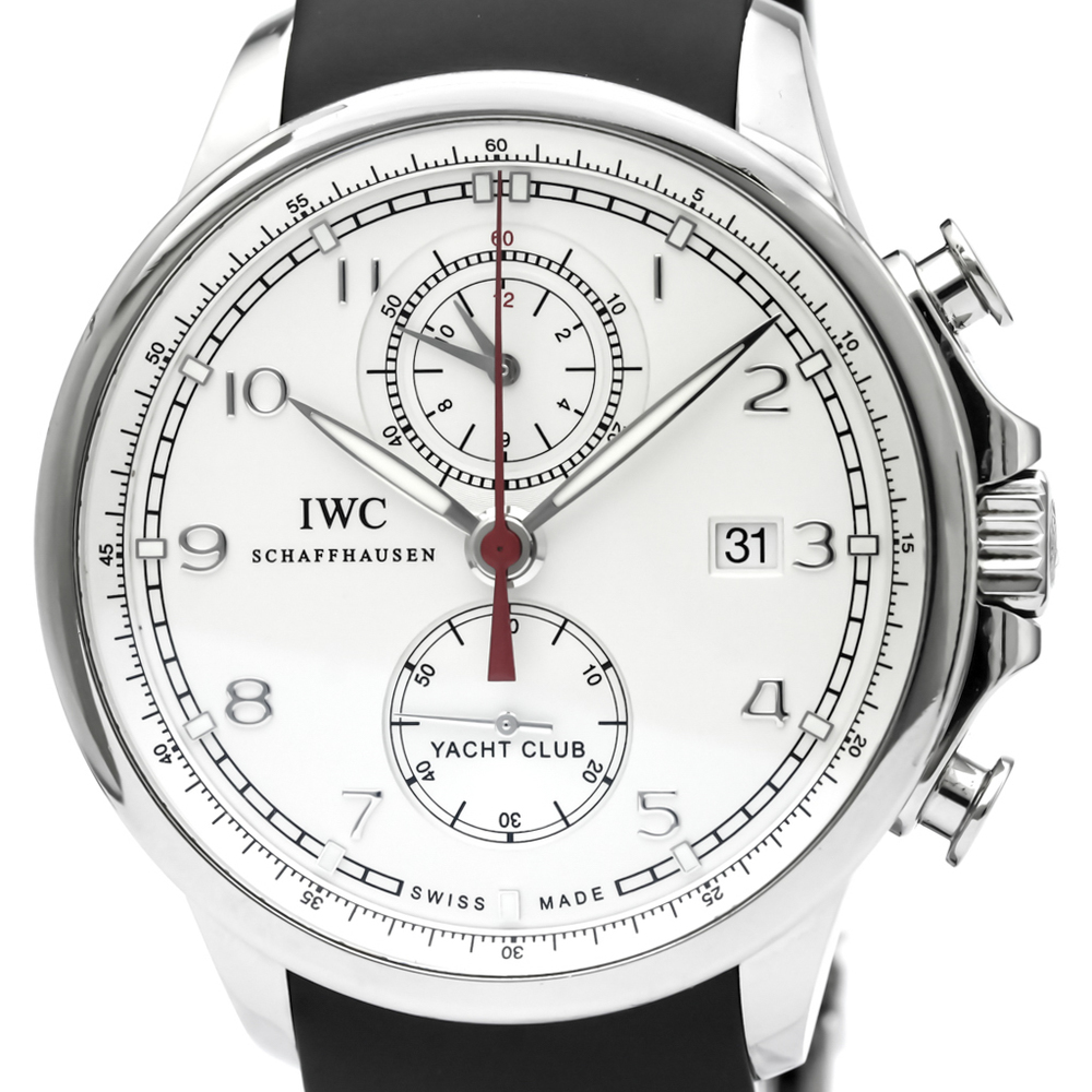 IWC Portugieser Automatic Stainless Steel Men's Sports Watch IW390206