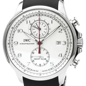 IWC ポルトギーゼ 自動巻き ステンレススチール(SS) メンズ スポーツウォッチ IW390206