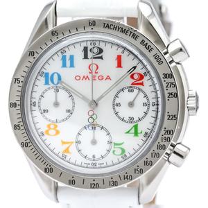オメガ(Omega) スピードマスター 自動巻き ステンレススチール(SS) メンズ スポーツウォッチ 3836.70.36