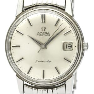 OMEGA Seamaster Date Steel Automatic Mens Watch 166.003