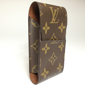 ルイ・ヴィトン(Louis Vuitton) モノグラム M63024 エテュイ・シガレット タバコケース エベヌ