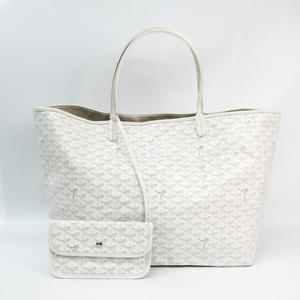 Goyard Saint Louis Saint Louis GM Women's Tote Bag White