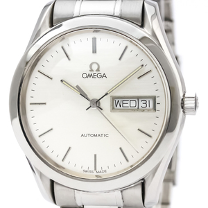 オメガ(Omega) クラシック 自動巻き ステンレススチール(SS) メンズ スポーツウォッチ 166.0299