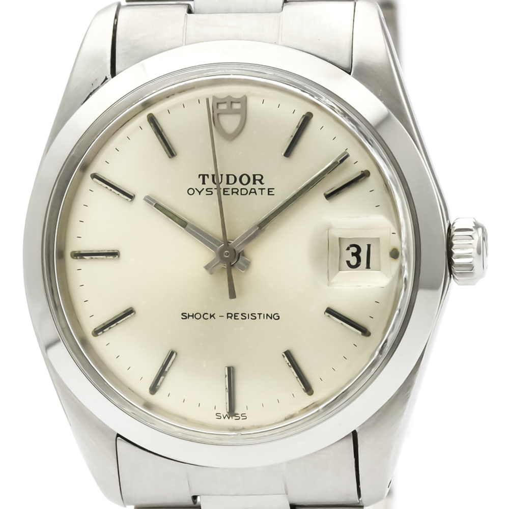 Tudor Oyster Date Mechanical Stainless Steel Men's Dress Watch 90100